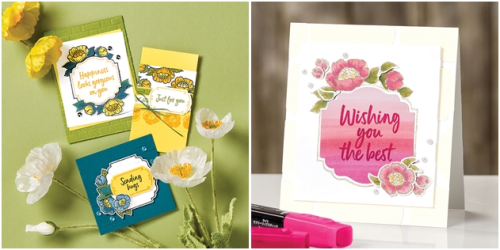 Tags and Blooms Stamp Set-horz