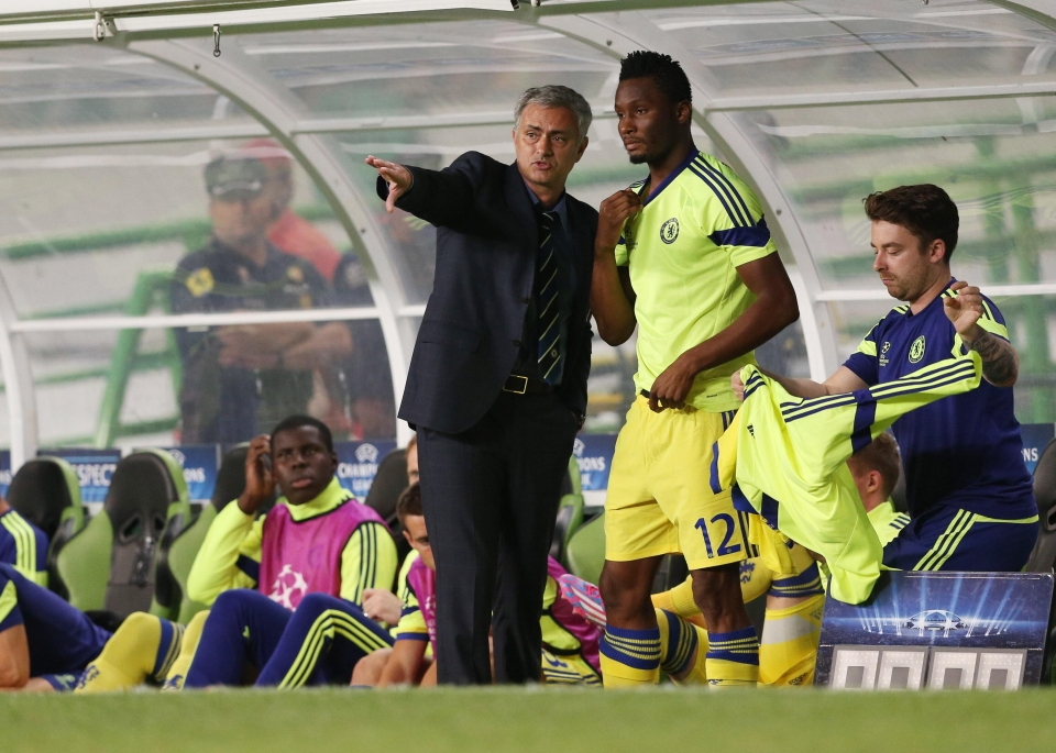 Jose Mourinho managed to beat the Red Devils for the signature of Mikel
