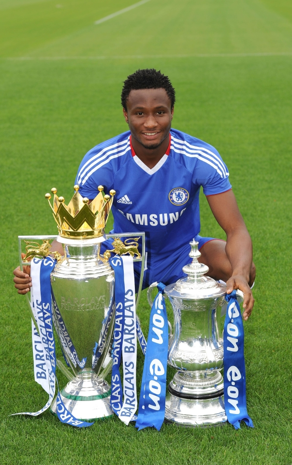 The African Cup of Nations winner won two Premier League titles and four FA Cup's