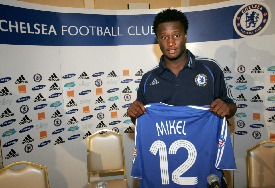 The Nigerian international moved to Stamford Bridge in 2006 in a highly controversial transfer