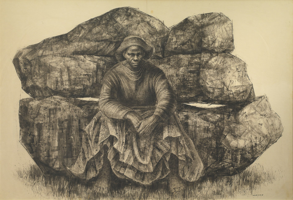 Charles White (USA), General Moses (Harriet Tubman), 1965.
