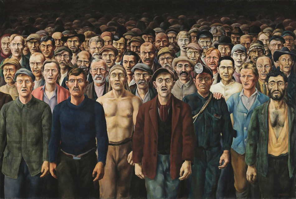 Otto Griebel (Germany), The Internationale, 1929/30.