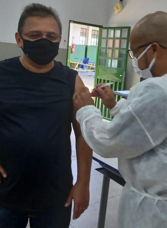 Vacinação reitor