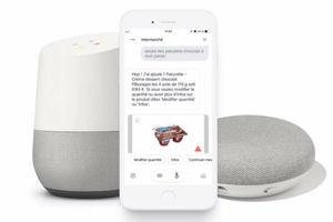Intermarché lance un service de commerce vocal avec Google Assistant, bientôt disponible sur Alexa