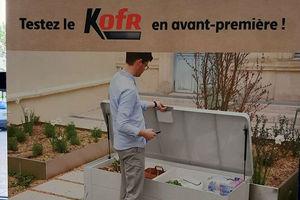 Avec Kofr, Intermarché teste la livraison à domicile dans le jardin via un coffre connecté