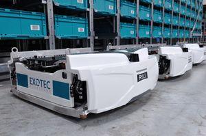 Le Japonais Uniqlo choisit le Français Exotec pour robotiser ses entrepôts