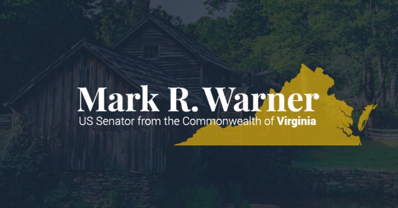 Image result for Mark Warner va senator 2018 photos