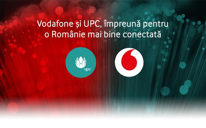 Vodafone si UPC, impreuna pentru o Romanie mai bine conectata